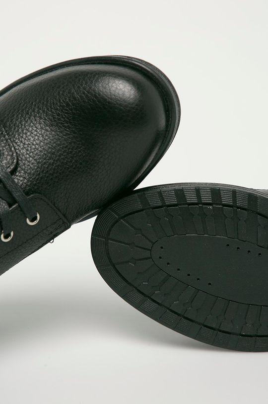 černá Kazar Studio - Kožené kotníkové boty