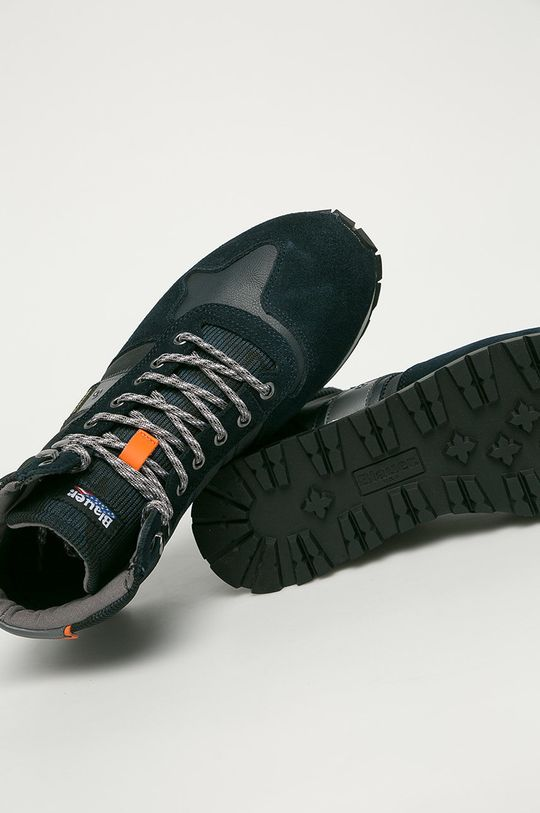 tmavomodrá Blauer - Topánky