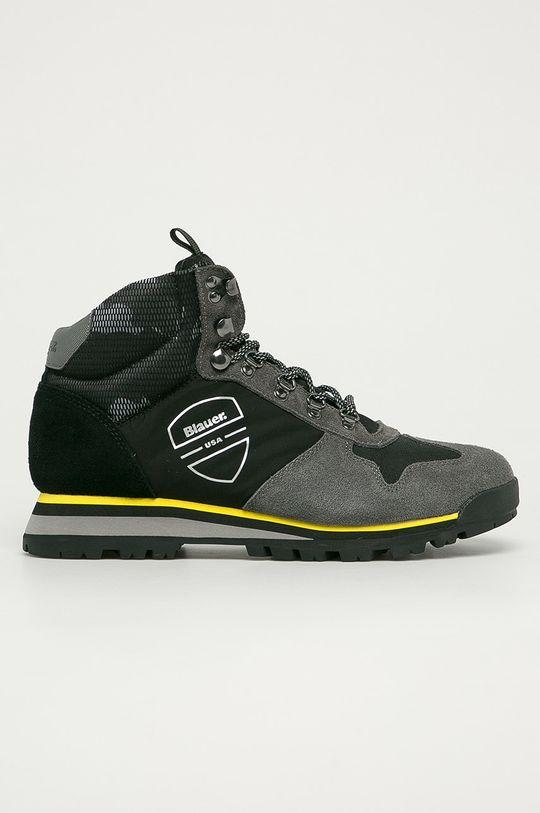 negru Blauer - Pantofi De bărbați