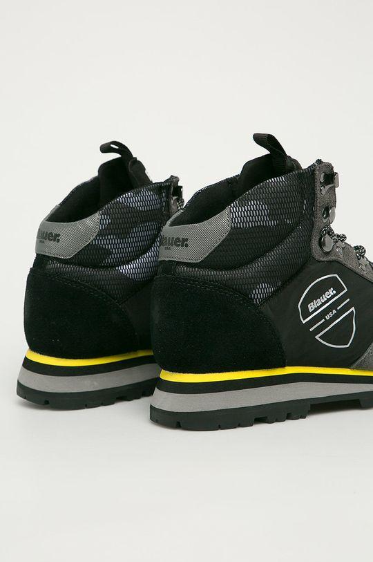 Blauer - Pantofi  Gamba: Material textil, Piele intoarsa Interiorul: Material textil, Piele naturala Talpa: Material sintetic