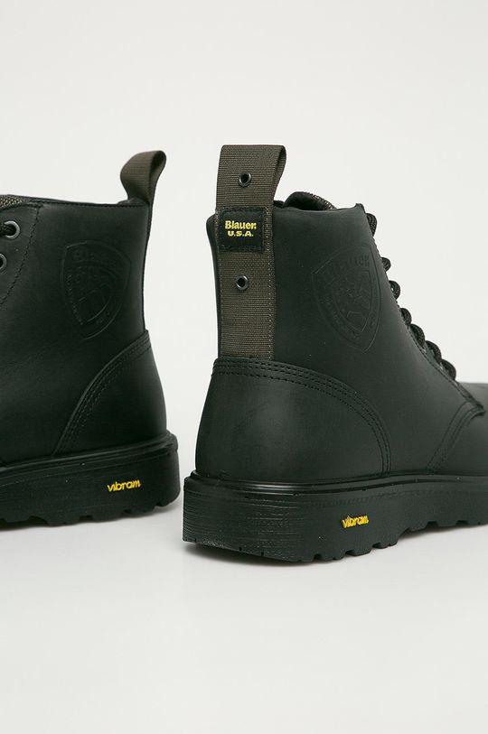 Blauer - Kožená obuv  Zvršok: Prírodná koža Vnútro: Textil, Prírodná koža Podrážka: Syntetická látka