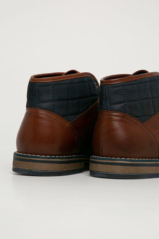 Wojas - Kožená obuv  Zvršok: Prírodná koža Vnútro: Textil Podrážka: Syntetická látka