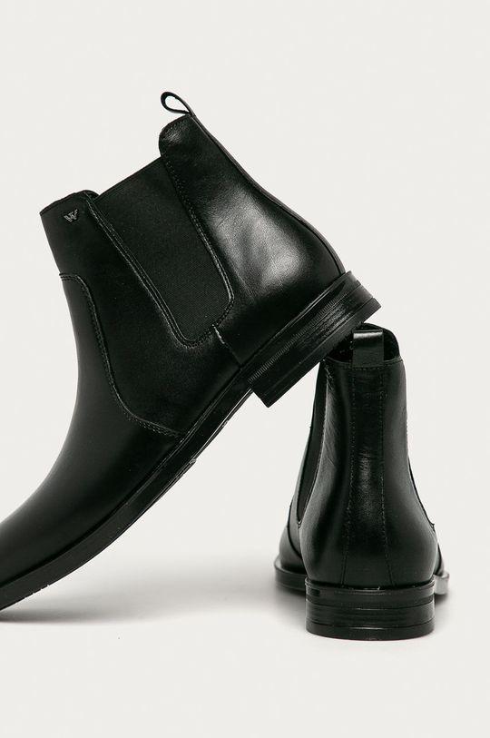 Wojas - Kožené kotníkové boty  Svršek: Přírodní kůže Vnitřek: Textilní materiál, Přírodní kůže Podrážka: Umělá hmota