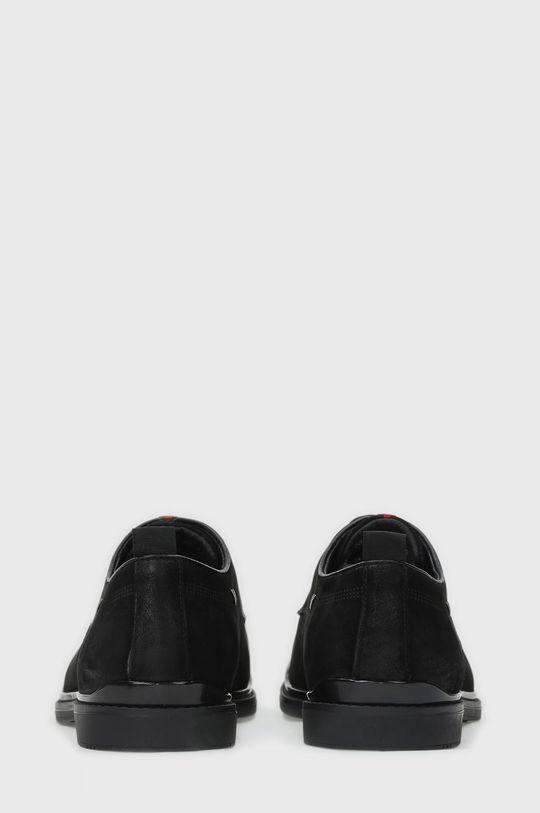 Kazar Studio - Kožené polobotky černá