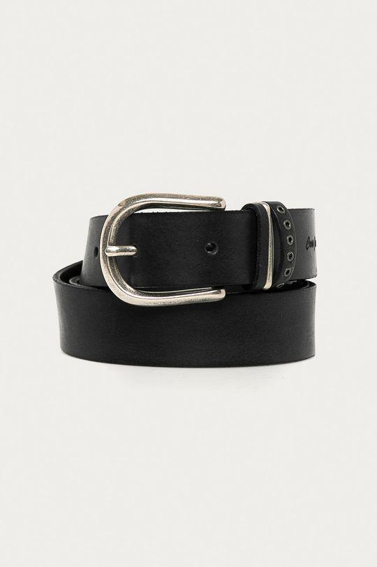 černá Cross Jeans - Kožený pásek Dámský