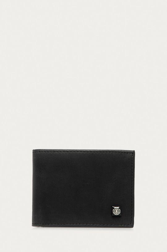černá Element - Kožená peněženka Unisex