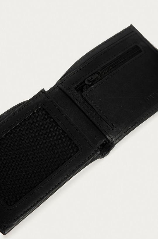 Element - Kožená peněženka černá