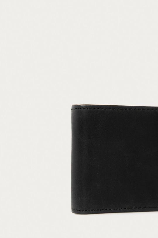 černá Element - Kožená peněženka