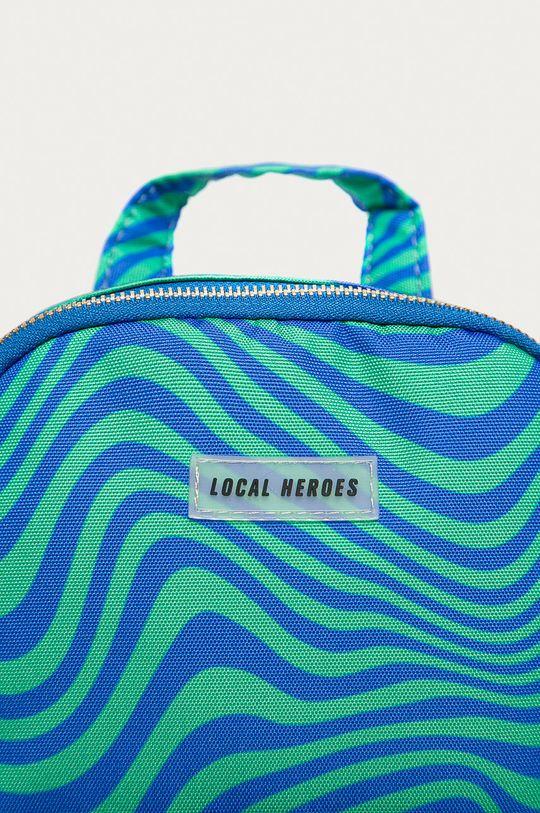 Local Heroes - Ruksak oceľová modrá
