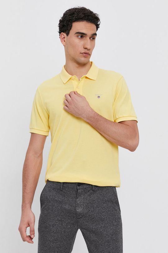 žlutá Gant - Polo tričko Pánský