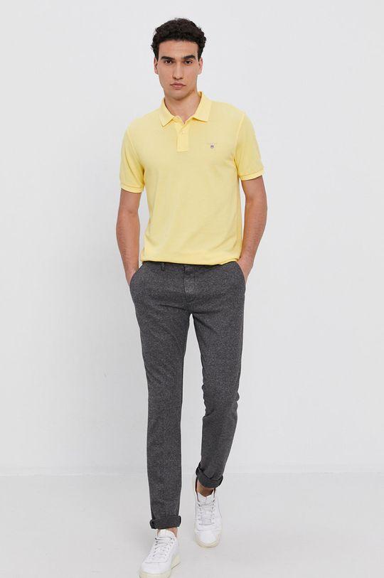Gant - Polo tričko žlutá