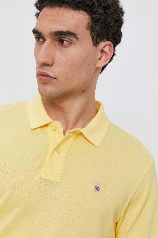 žlutá Gant - Polo tričko