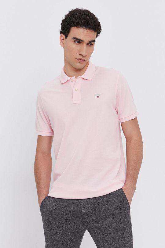 růžová Gant - T-shirt/polo 2201 Pánský