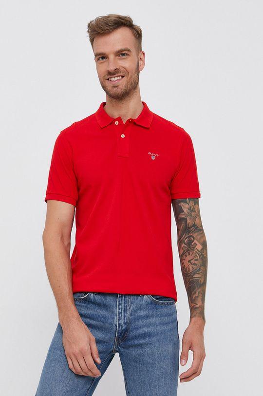 červená Gant - T-shirt/polo 2201 Pánský
