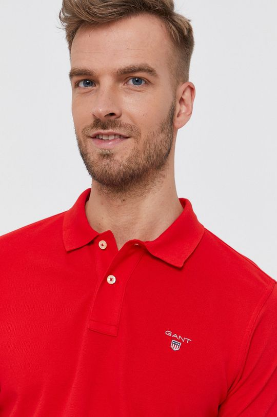 červená Gant - T-shirt/polo 2201