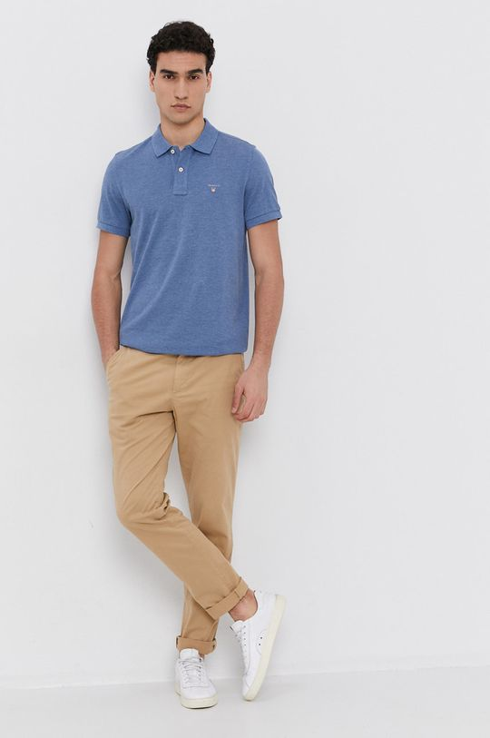 Gant - Polo tričko modrá