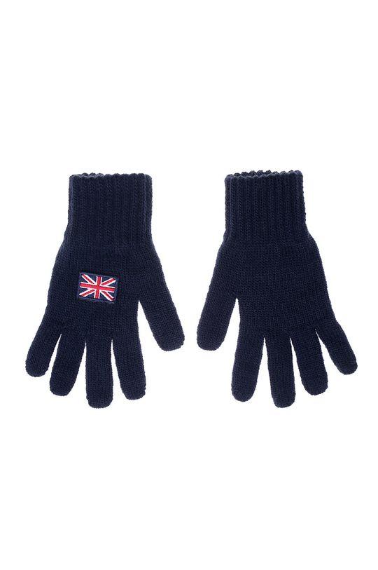 námořnická modř Giamo - Dětské rukavice Dětský