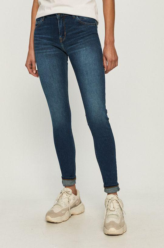 granatowy Cross Jeans - Jeansy Page Damski