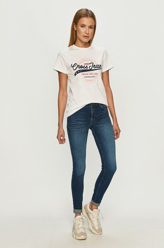 Cross Jeans - Jeansy Page granatowy