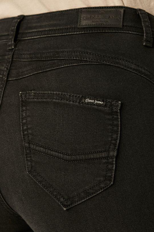 czarny Cross Jeans - Jeansy Judy
