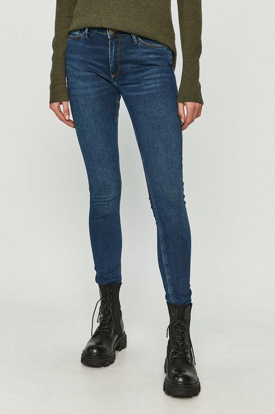 granatowy Cross Jeans - Jeansy Alan Damski