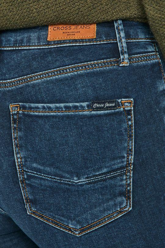 granatowy Cross Jeans - Jeansy Alan