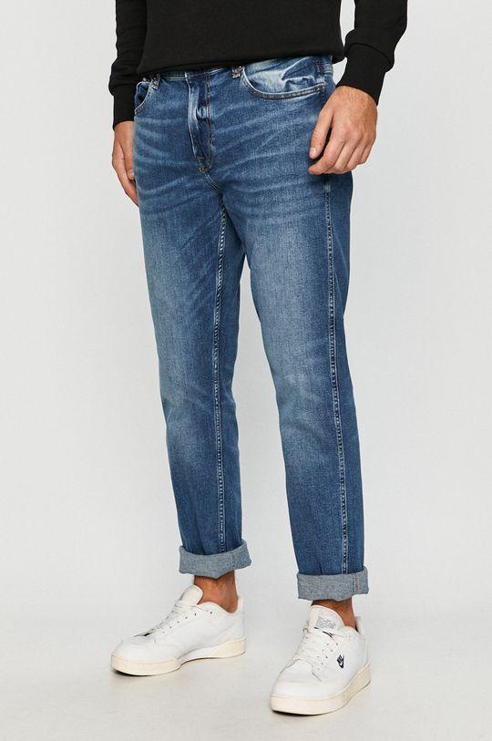 modrá Cross Jeans - Džíny Trammer Pánský