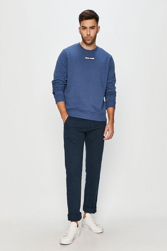 Cross Jeans - Spodnie granatowy