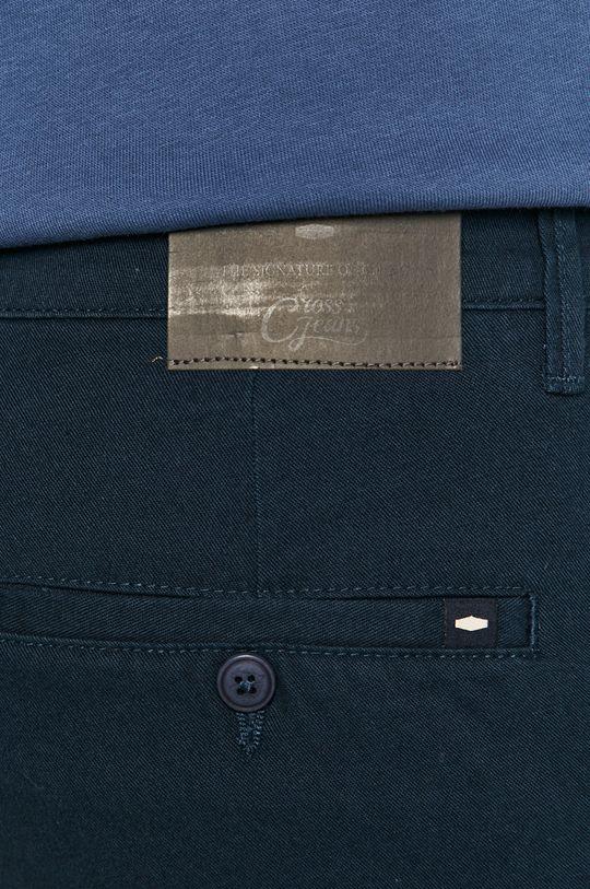 granatowy Cross Jeans - Spodnie