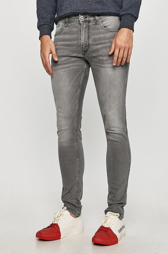 sivá Cross Jeans - Rifle Blake Pánsky