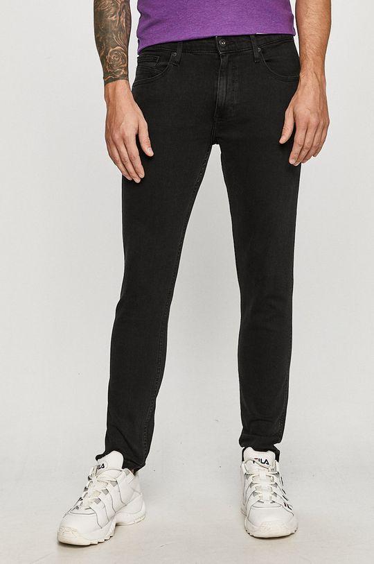czarny Cross Jeans - Jeansy Blake Męski