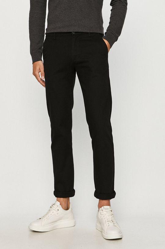 čierna Cross Jeans - Nohavice Pánsky