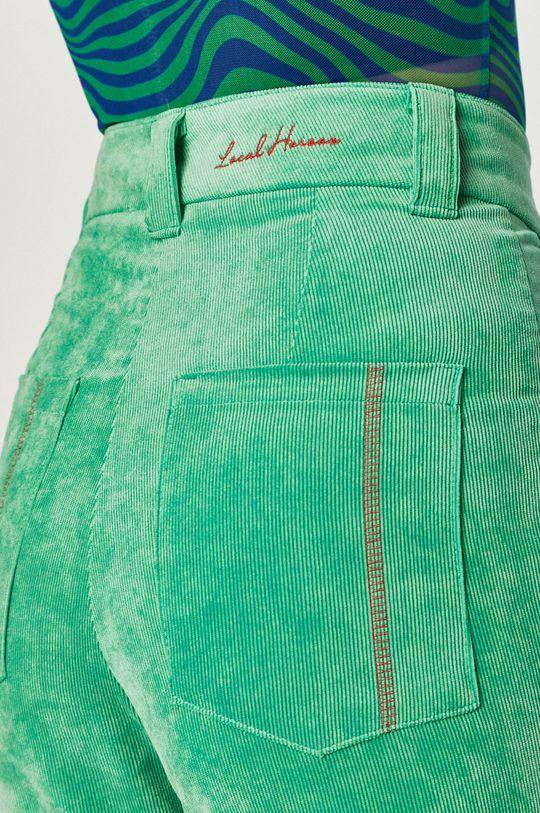 zielony Local Heroes - Spodnie