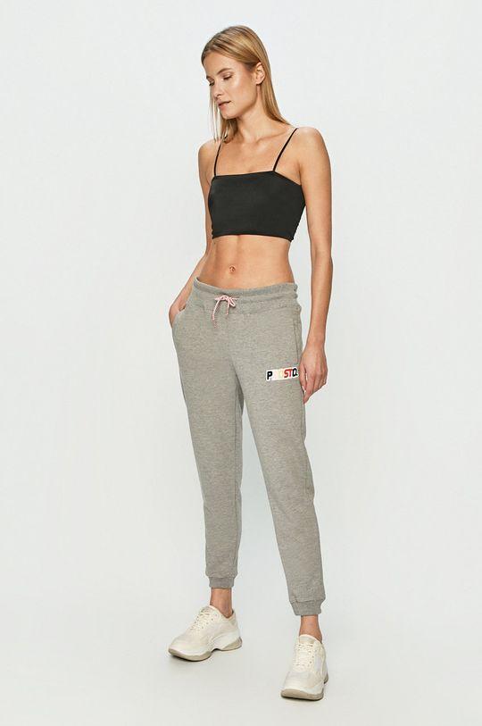Prosto - Kalhoty šedá