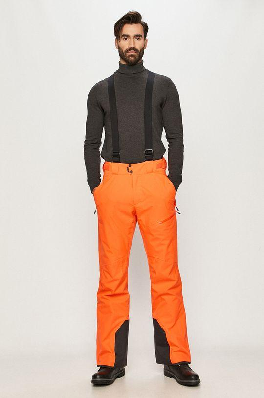 Jack Wolfskin - Spodnie snowboardowe pomarańczowy