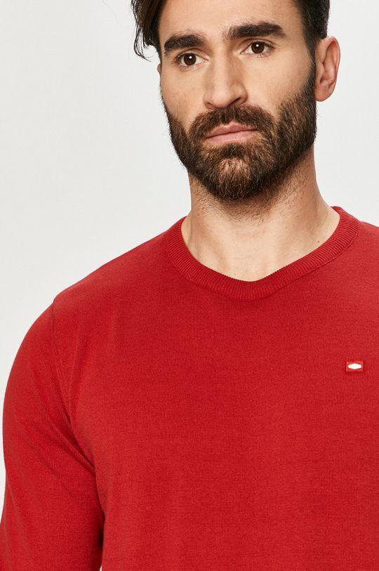 czerwony Cross Jeans - Sweter
