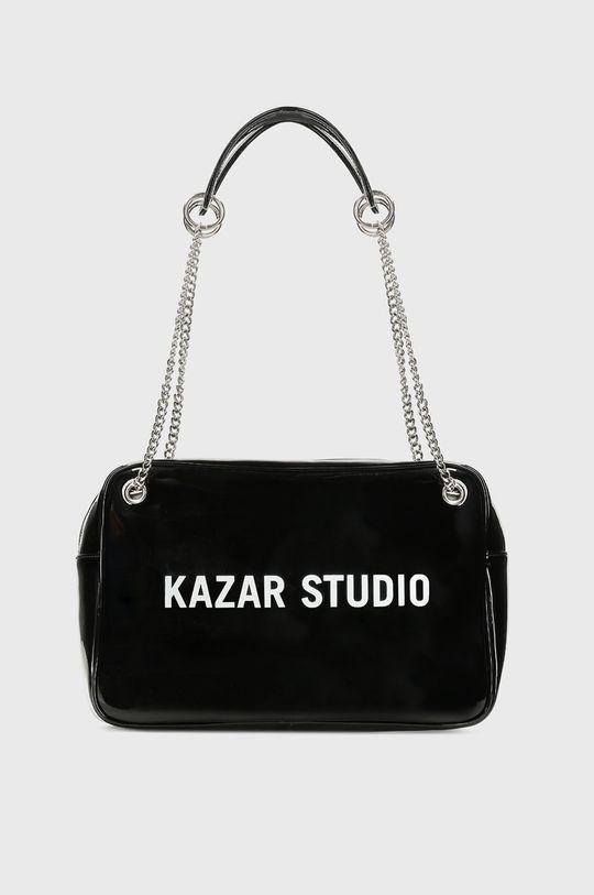 černá Kazar Studio - Kožená kabelka Dámský