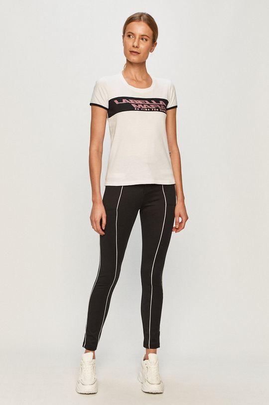 LaBellaMafia - T-shirt biały