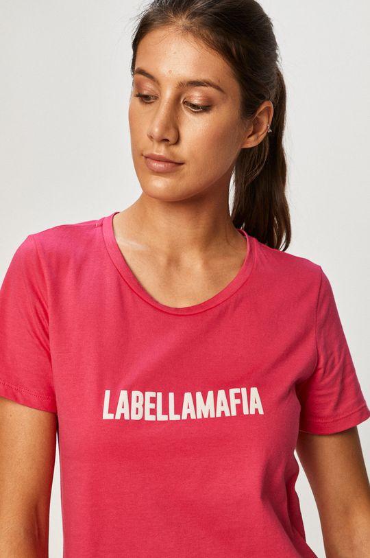 ostrá růžová LaBellaMafia - Tričko Dámský
