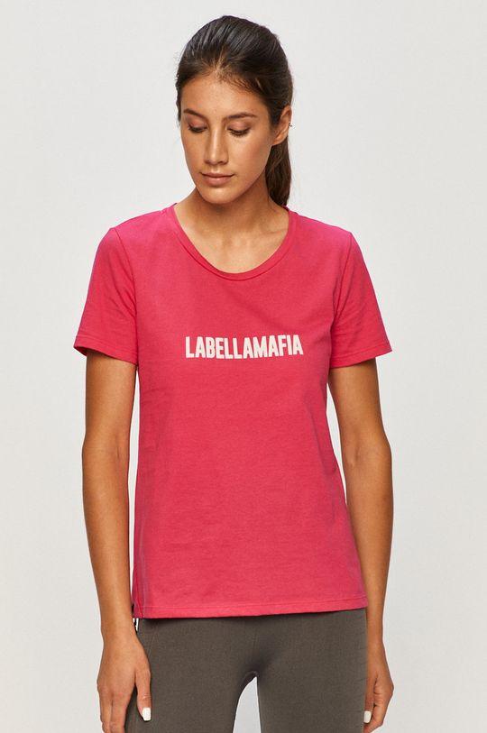 ostrá růžová LaBellaMafia - Tričko
