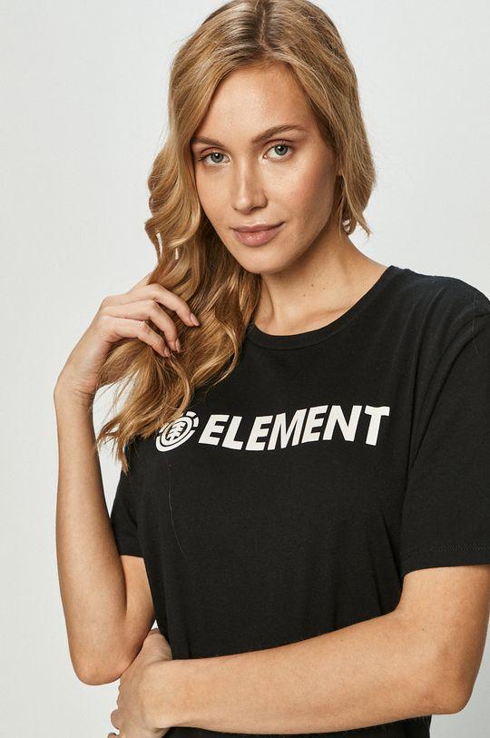 czarny Element - T-shirt Damski