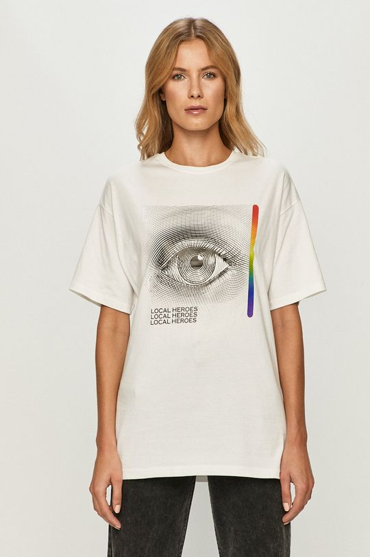 fehér Local Heroes - T-shirt Női