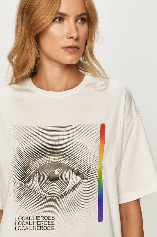 fehér Local Heroes - T-shirt
