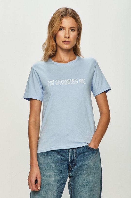 niebieski Local Heroes - T-shirt Damski