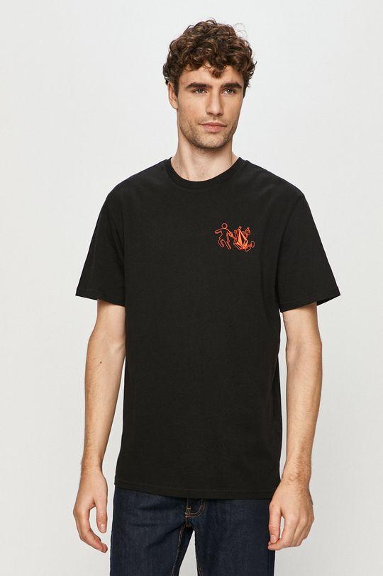 Volcom - Tričko černá