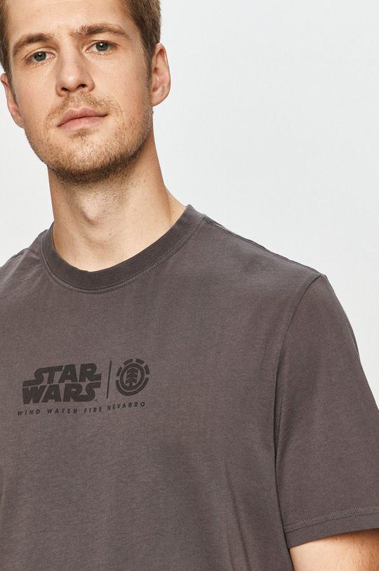 grafitová Element - Tričko x Star Wars