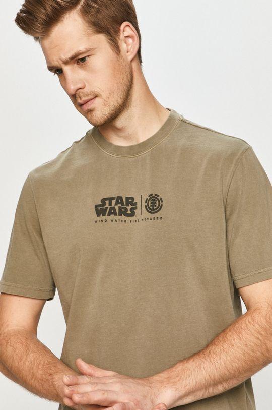 tlumená zelená Element - Tričko x Star Wars