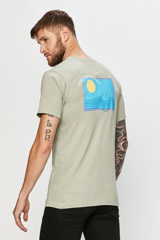 oliwkowy Local Heroes - T-shirt Męski