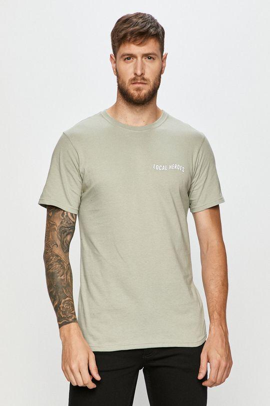 Local Heroes - T-shirt oliwkowy