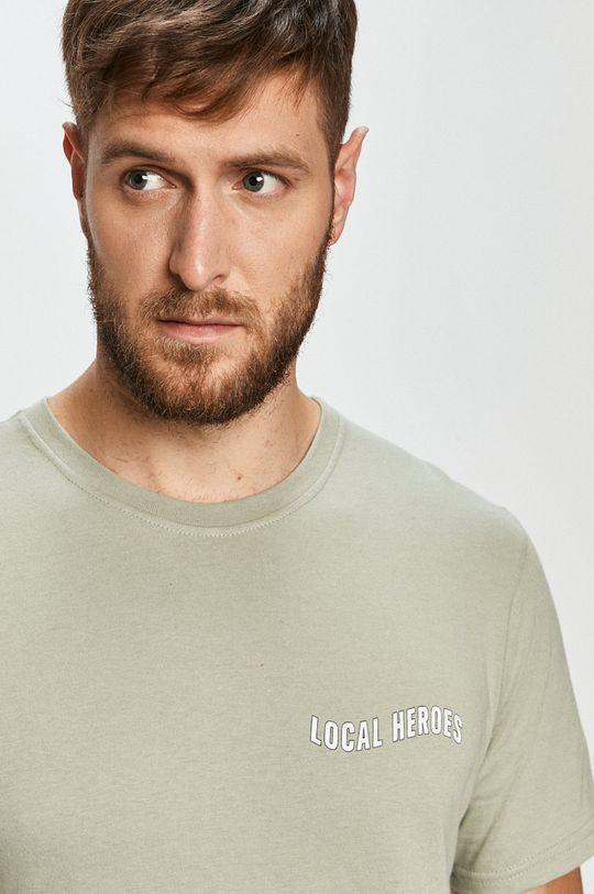 oliwkowy Local Heroes - T-shirt